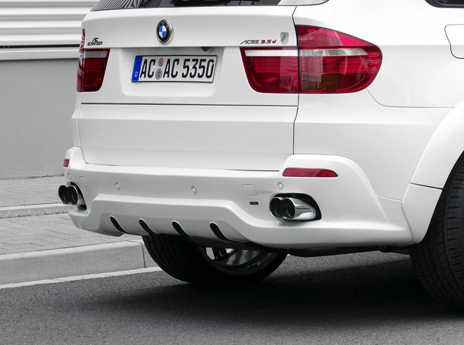 Ac Schnitzer Rear Skirt For Bmw X5 E70 Se