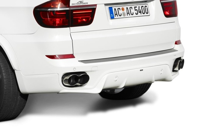 Ac Schnitzer Rear Skirt For Bmw X5 E70 Lci