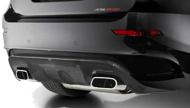AC Schnitzer Sports exhaust for BMW X5M (E70)