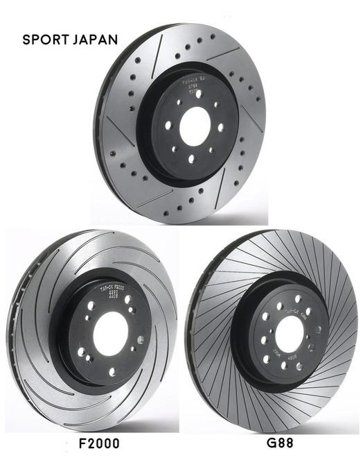 Front Tarox Brake Discs - X5 (E70) 3 0d 348mm