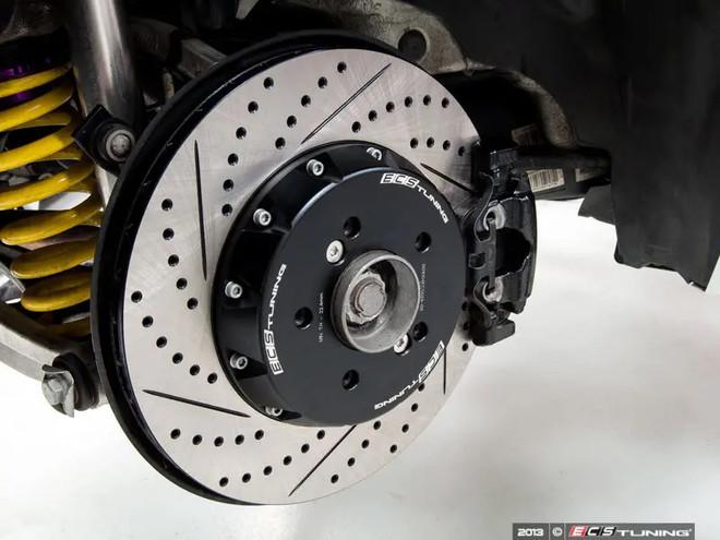 ECS Tuning 2-Piece Lightweight Rear Brake Rotors - Pair (350x24) - 1M / E9X