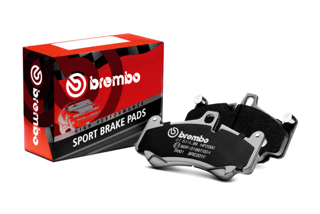 Brembo HP Sport Front Brake Pads - 1&2 F2X Series with M Brakes