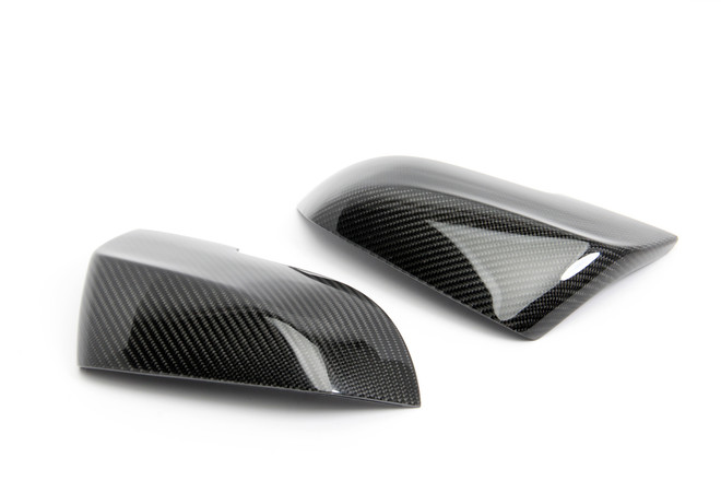 Carbon Fiber Mirror Caps