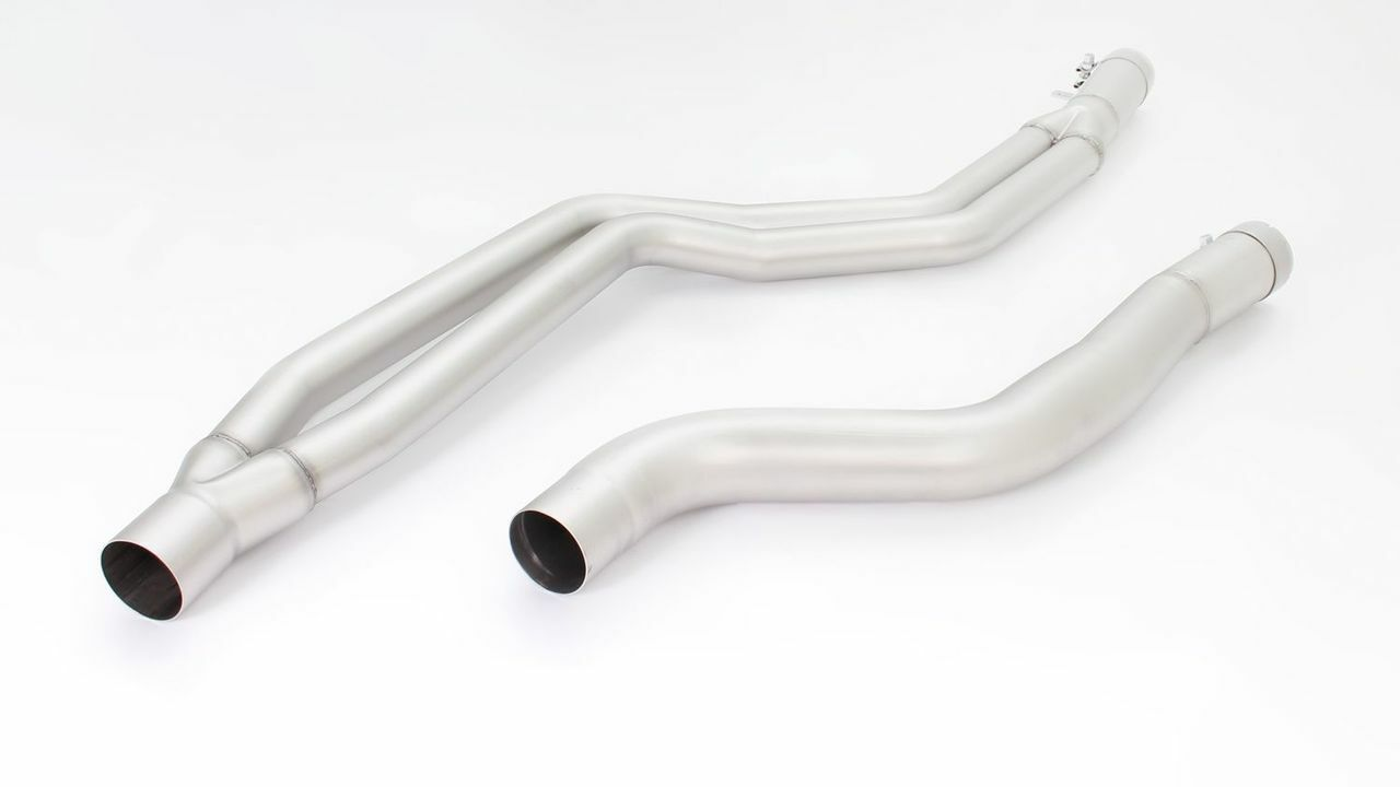 Remus Non Resonated Midpipe- M140i 2015> / M240i
