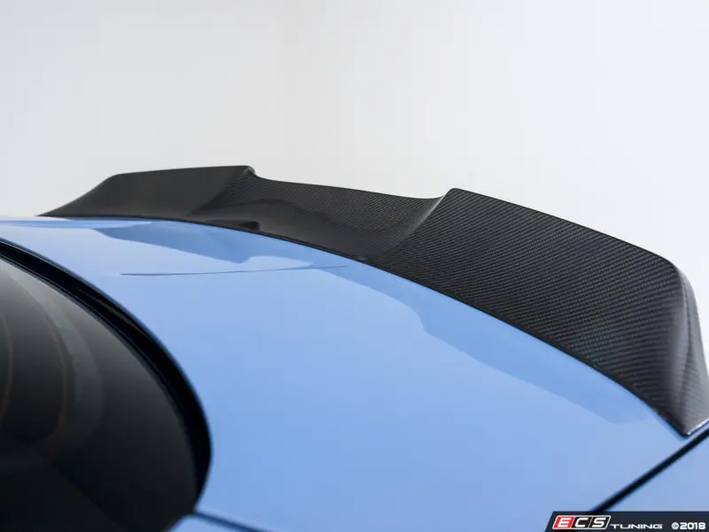 Turner Motorsport Carbon Fiber High Kick Rear Spoiler - M4 F82