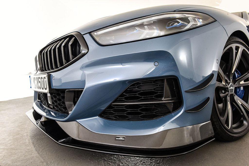 AC Schnitzer Carbon fibre front spoiler elements for BMW 8 series (G14/G15)