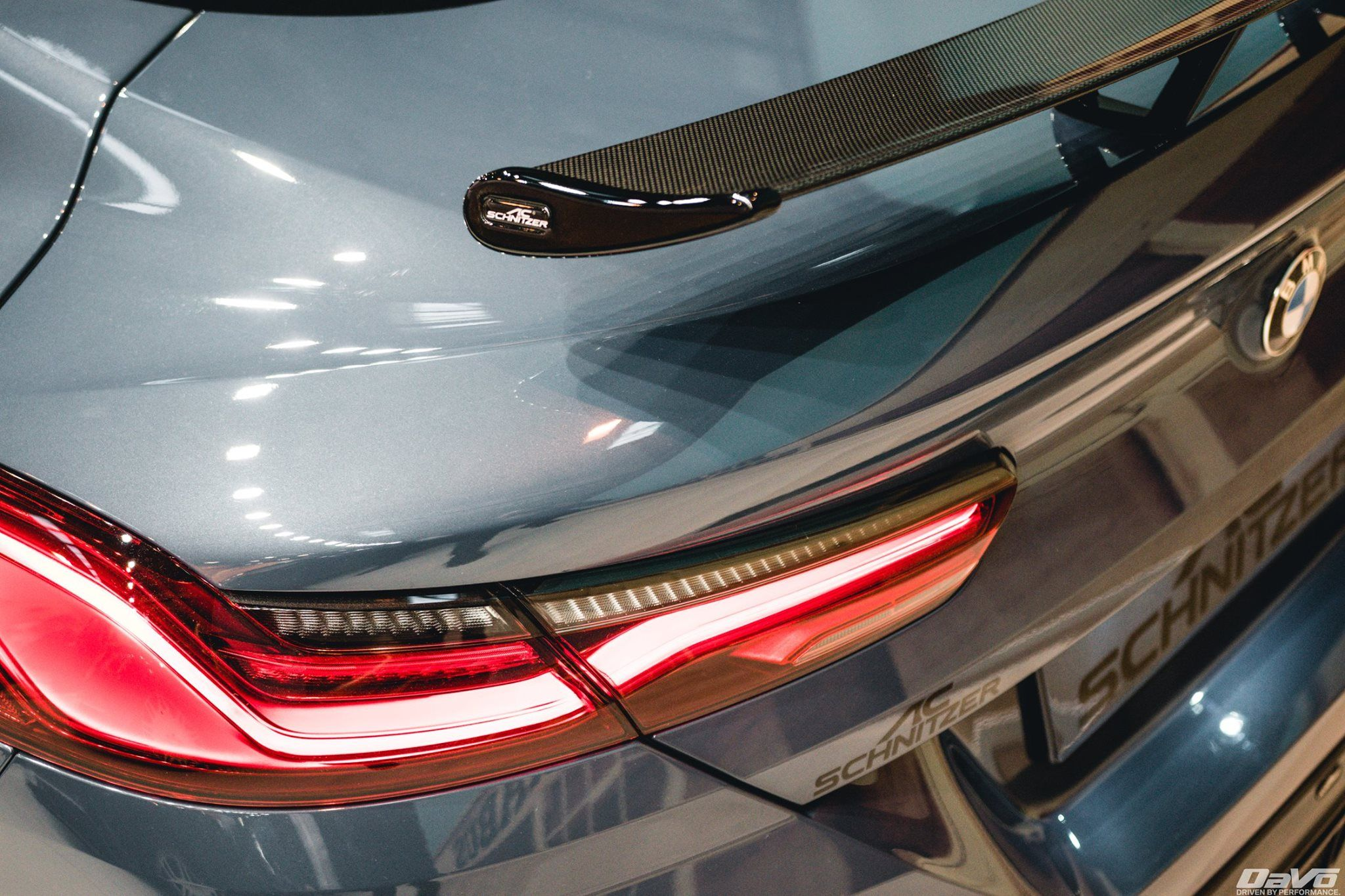AC Schnitzer Carbon fibre Racing rear wing for BMW 8 series coupe (G15)