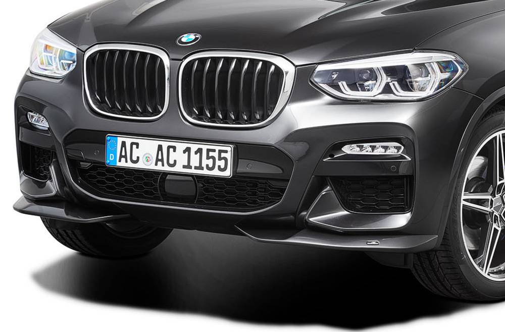 AC Schnitzer Front spoiler elements for BMW X3 (G01) M Sport