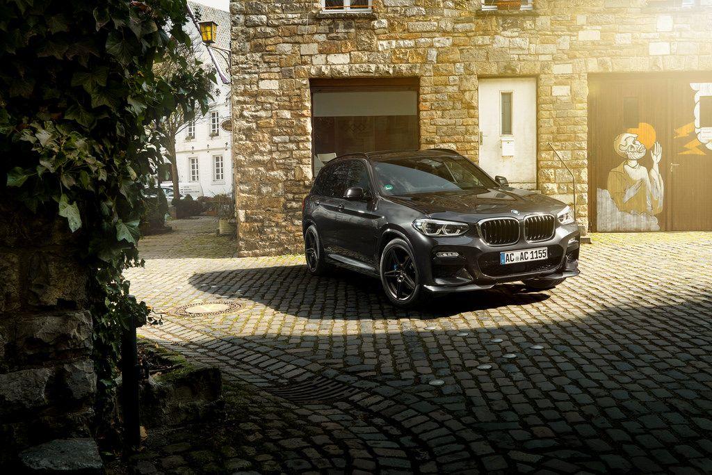 AC Schnitzer Front spoiler elements for BMW X3 (G01) M Sport