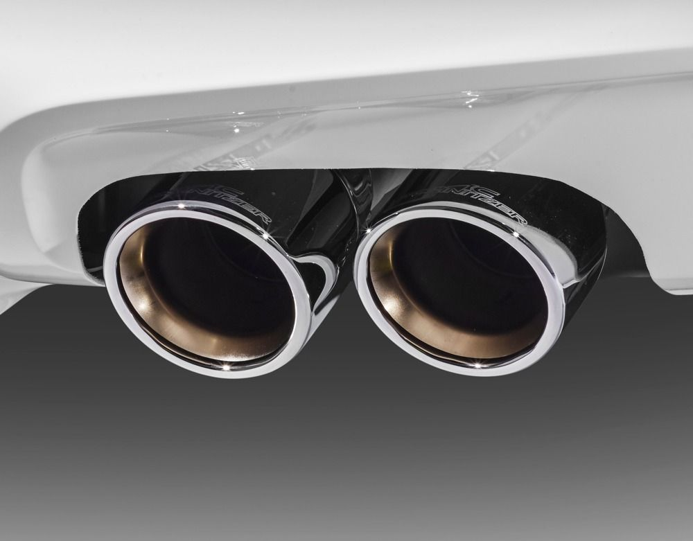 AC Schnitzer 90mm Sport chrome tailpipe set for BMW X3 (G01)