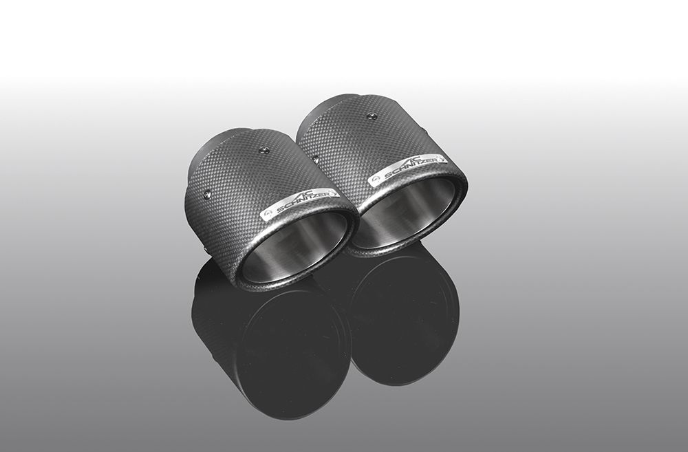 AC Schnitzer Sport carbon tailpipe set for BMW X3 (G01)