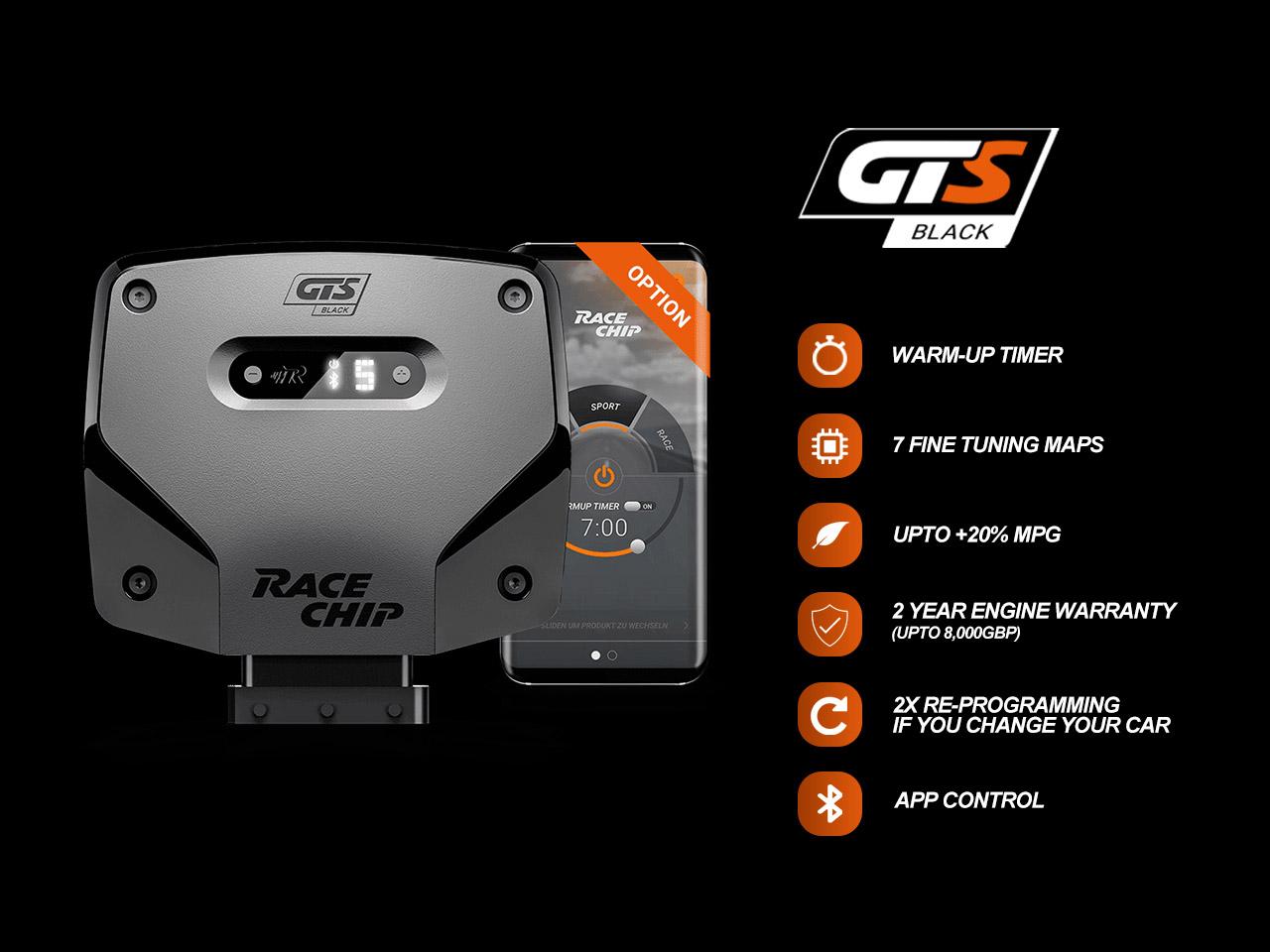 RaceChip GTS Black+App Tuning Box - X6 (F16) / 2014-2019