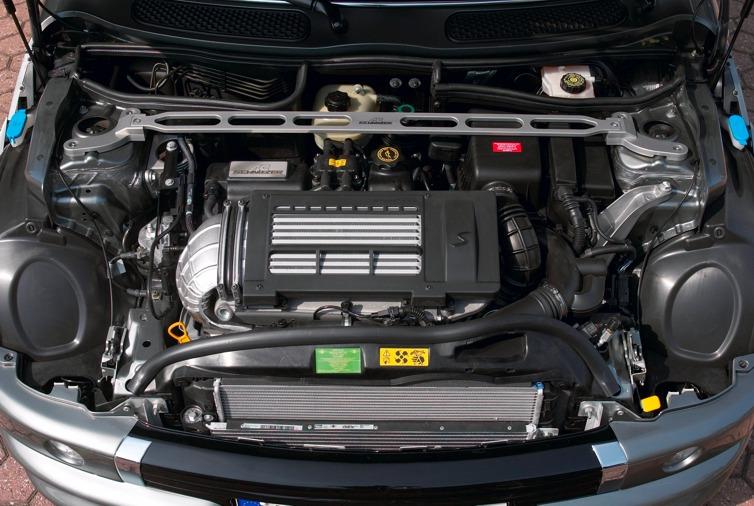 AC Schnitzer Aluminium strut brace for MINI Cooper S (R50/R53)