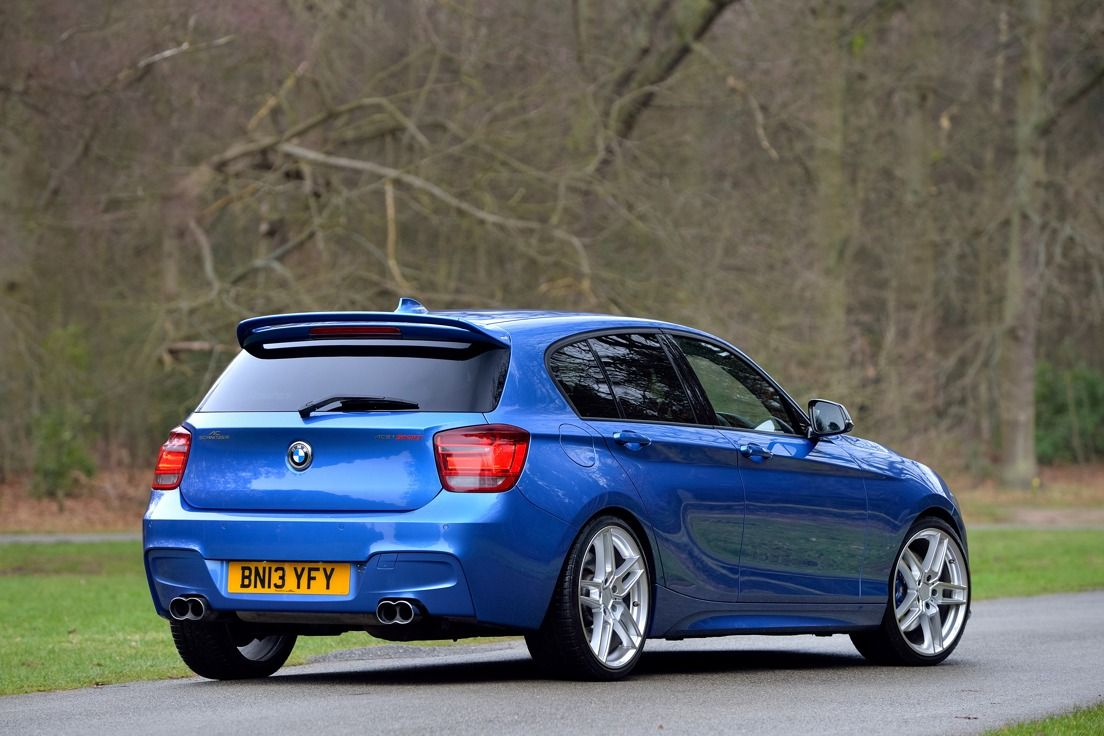 AC Schnitzer Roof spoiler for BMW 1 series (F20/F21)