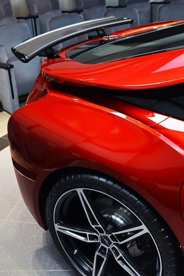 AC Schnitzer Carbon fibre Racing rear wing for BMW i8