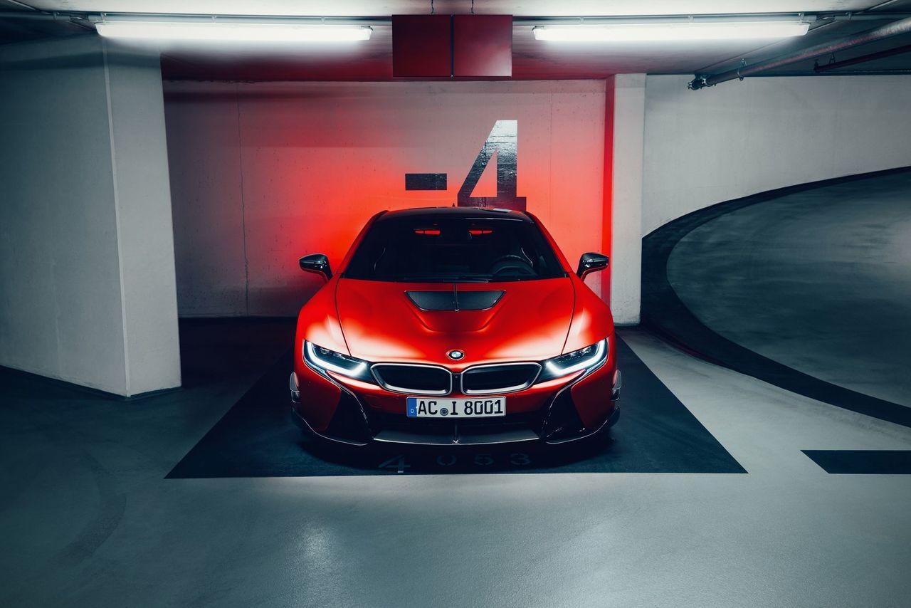 AC Schnitzer Carbon fibre mirror caps for BMW i8