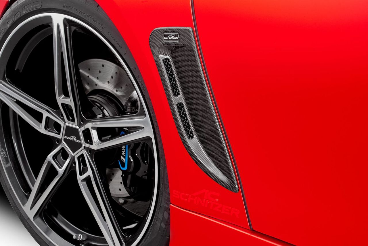AC Schnitzer Carbon fibre air ducts (front) for BMW i8
