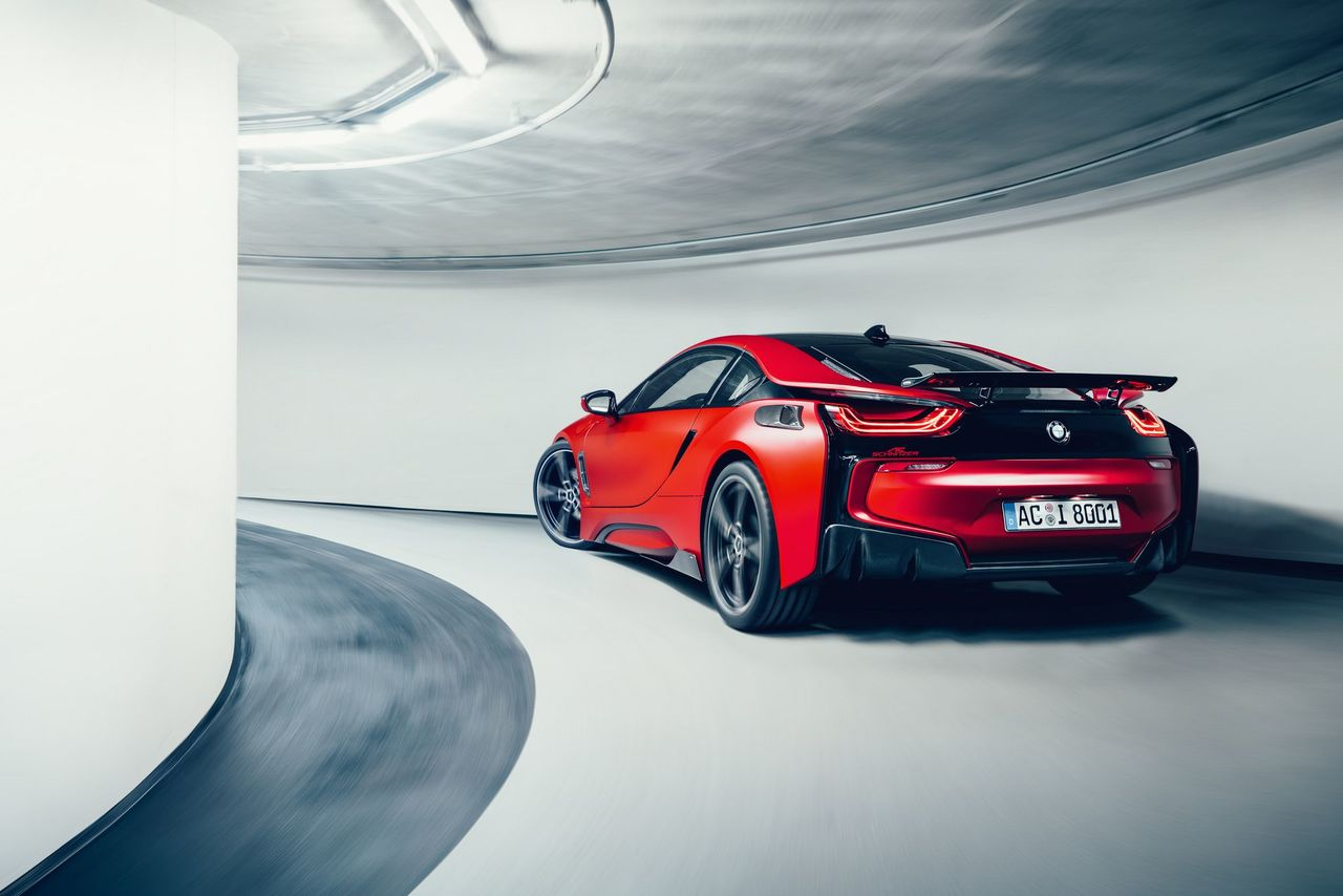 AC Schnitzer Carbon fibre door handle recesses for BMW i8