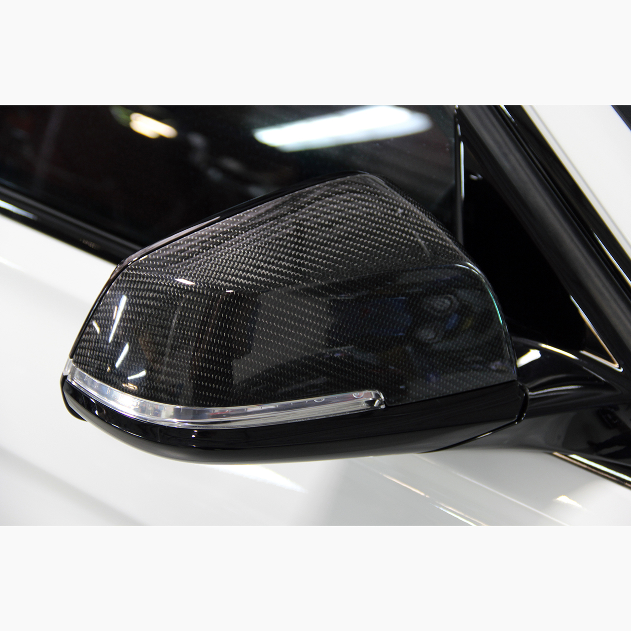 Dinan Carbon Fiber Mirror Cap Set for BMW F2xF3x