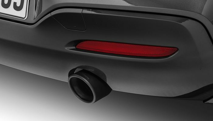 AC Schnitzer 90mm Sport black ceramic tailpipes (each) for BMW 1 series (F20/F21) M135i (2 pack)