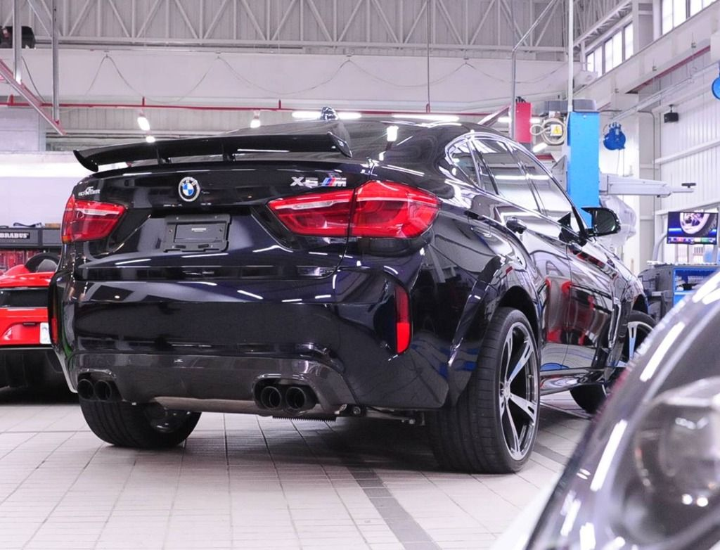 AC Schnitzer Quad sports exhaust for BMW X5M & X6M (F86) Chrome