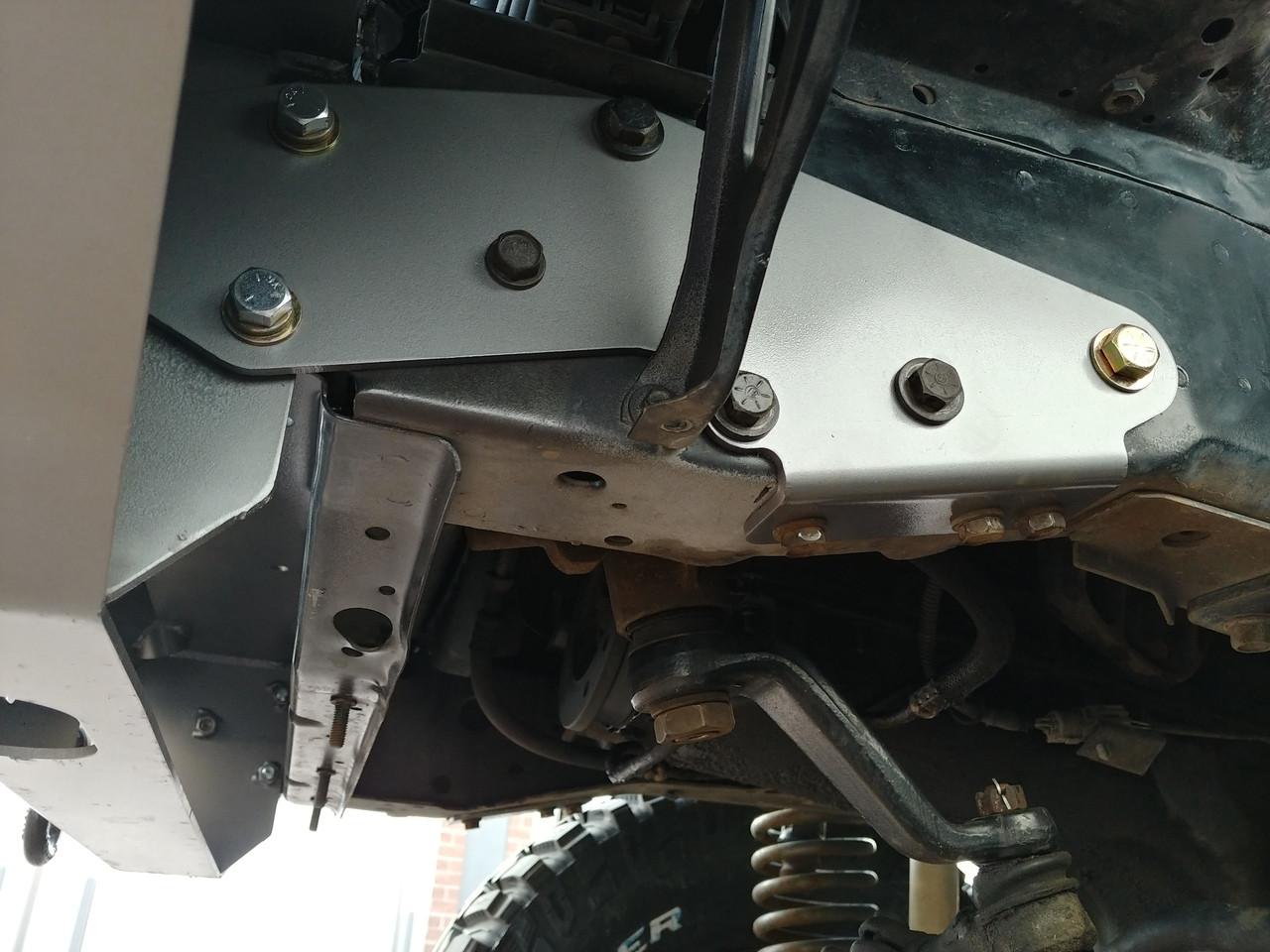 Jeep XJ Cherokee Winch Bumper