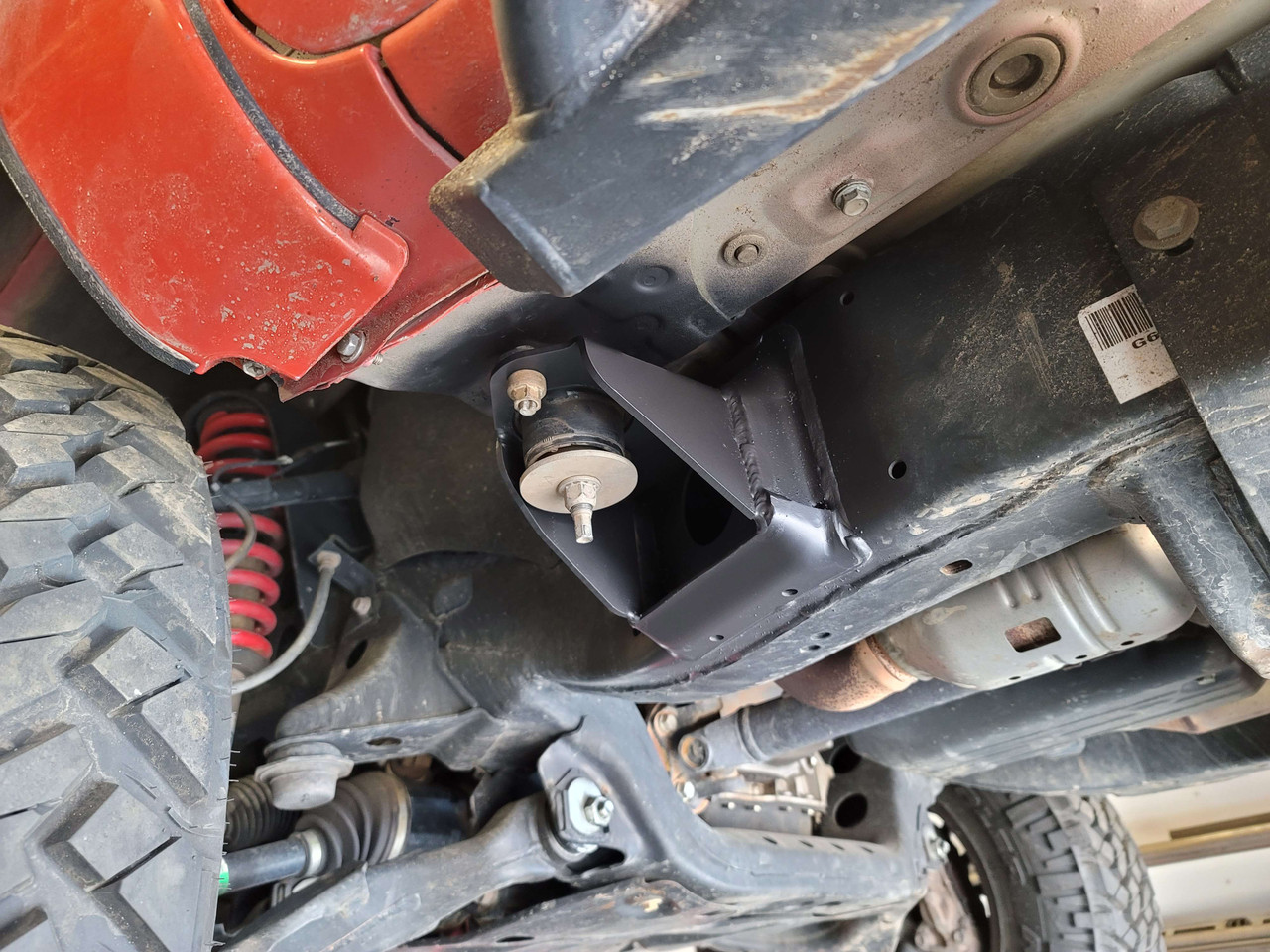 Toyota Tacoma 2nd Gen (2005-2015) High Clearance Front Cab Mount Pair