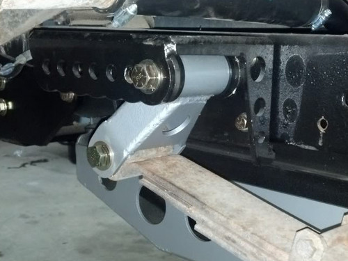GM Rear Shackle installed in one of our shackle flip kits