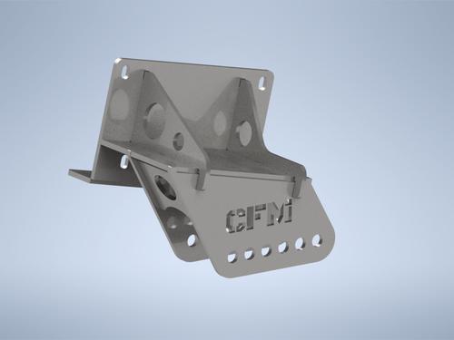 GM K5 Blazer/Jimmy Rear Spring Hangers - 4 side bolts