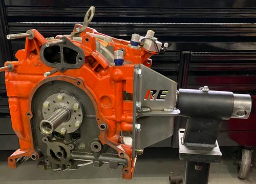 Mazda Rotary Engine Stand Adapter - Tube Mount