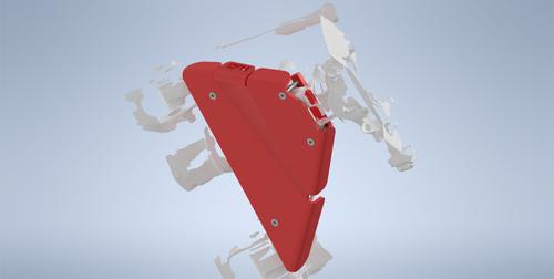 Toyota Tacoma 2G LCA Skids CAD Model