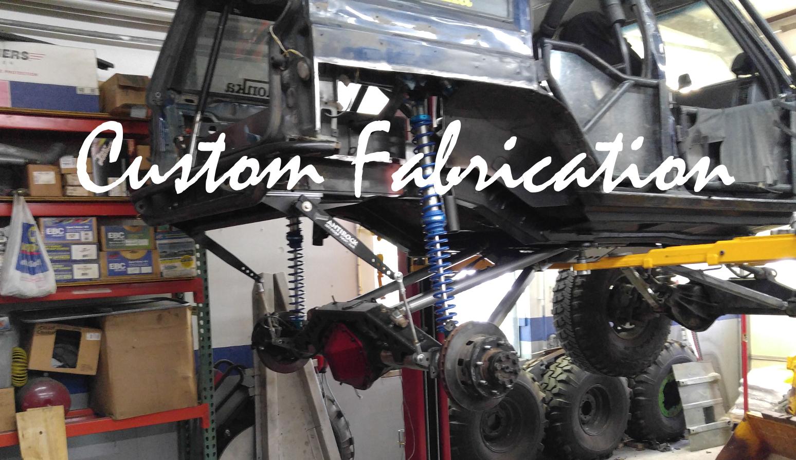 Custom Fabrication Shop Frederick, Colorado
