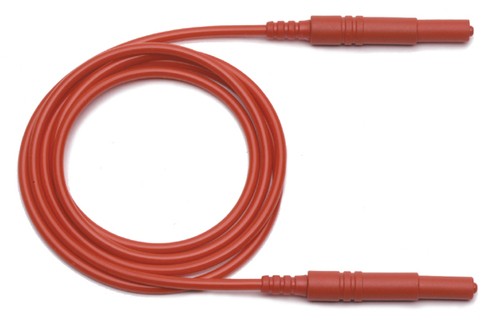 "4mm retractable Banana Plugs both ends, 48 - 120"" Lengths"