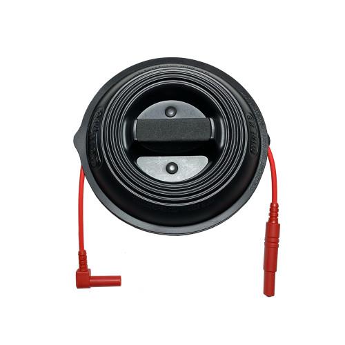 30 FT  Test Lead- 9194  Banana Plug Rt Angle & Storage  Reel