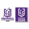 Melbourne Storm 2020 Premiers Mini Decals (2 Pack)
