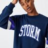 Melbourne Storm 2021 CottonOn Mens Colour Block Crew