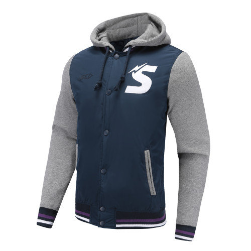 Melbourne Storm 2019 ISC Mens Baseball Jacket