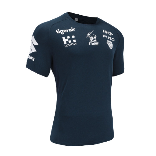 Melbourne Storm 2019 ISC Mens Training Tee Navy