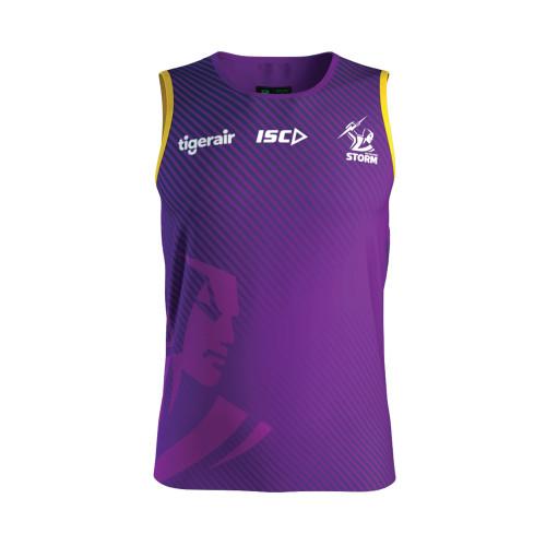 Melbourne Storm 2020 ISC Kids Training Singlet Purple