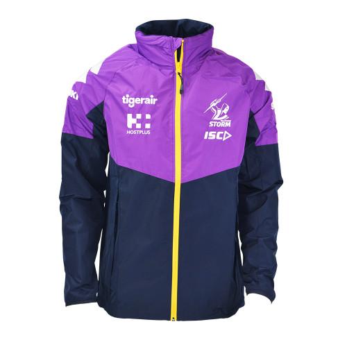 Melbourne Storm 2020 ISC Mens Wet Weather Jacket
