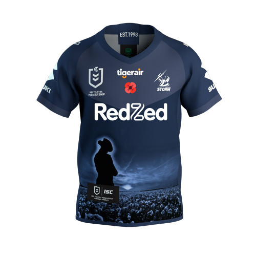 Melbourne Storm 2020 ISC Kids ANZAC Jersey