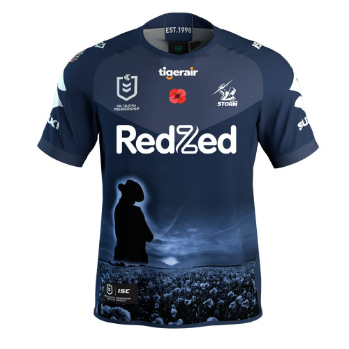 Melbourne Storm 2020 ISC Mens ANZAC Jersey