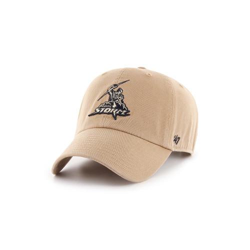 Melbourne Storm 47 Brand Khaki Clean Up Cap