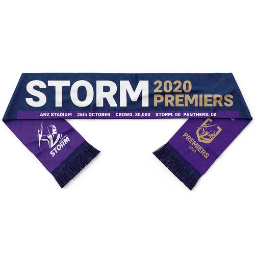 Melbourne Storm 2020 Premiers Scarf