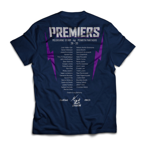 Melbourne Storm 2020 ISC Womens Premiers Tee
