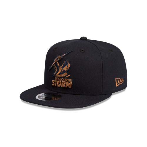 Melbourne Storm New Era 9Fifty Navy Bronze Snapback Cap