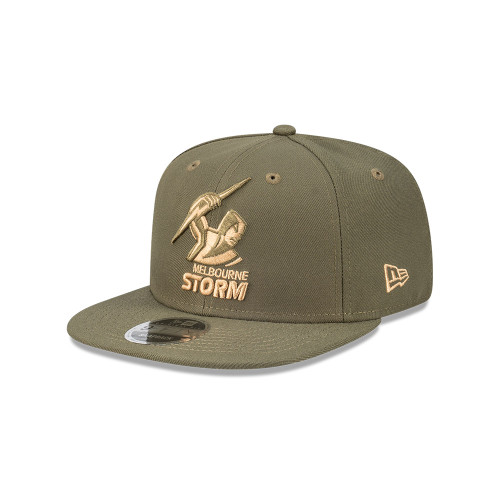 Melbourne Storm New Era 9Fifty Olive Snapback Cap