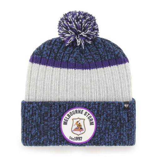 Melbourne Storm 47 Brand Holcomb Cuff Knit Beanie