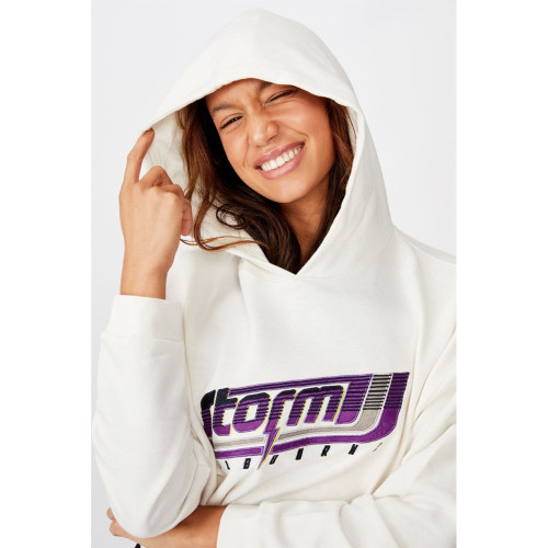 Melbourne Storm 2020 CottonOn Womens Oversized Chopped Hoody