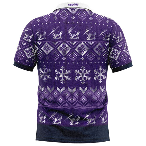 Melbourne Storm 2020 Mens Christmas Polo